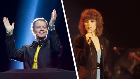 DJ Alle Farben und Sängerin Pat Benatar