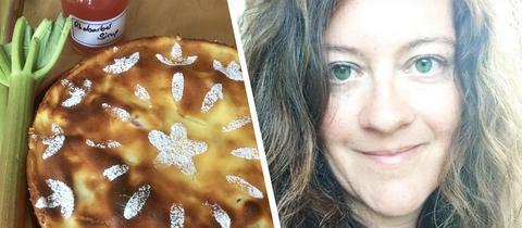 Ein gold-gelber Rhabarbar-Traum: Simones Tante-Jutta-Kuchen.