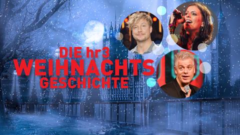Die hr3 Weihnachtsgeschichte - erkennt ihr eure Stars?