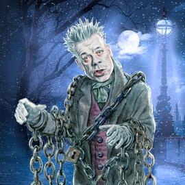 hr3 Weihnachtshörspiel Star-Illustration Michael Mittermeier