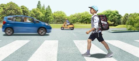 Kopf hoch 2020: Auch in diesem Jahr wollen wir den Straßenverkehr gemeinsam sicherer machen.