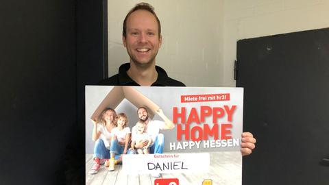 Happy Home Happy Hessen zweiter Gewinner Daniel