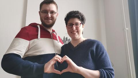 Franziska und ihr Partner Mark