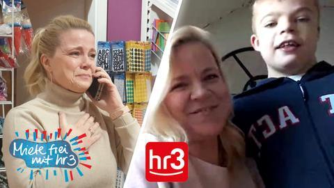 """Durch ihren Gewinn bei """"Miete frei mit hr3"""" konnte Ivonne ihrem Sohn Tom eine Pferdetherapie ermöglichen."""
