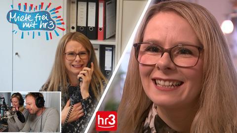 """Sneschanna 1 Jahr nach ihrem Gewinn bei """"Miete frei mit hr3""""."""