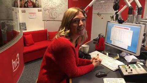 So reagierte Tanja Rösner in der hr3 Morningshow auf das Ergebnis der Abstimmung zum Christmas Shopping in New York