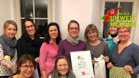 Umweltheldin Katharina Schulz vom Frauen- und Familienzentrum Szenen-Wechsel aus Seeheim-Jugenheim