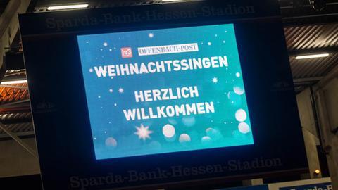 Weihnachtssingen von hr3 und OFP 2019