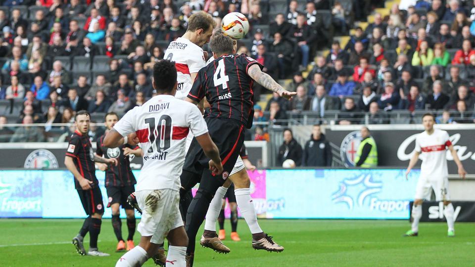 Spielszene Eintracht vs Stuttgart