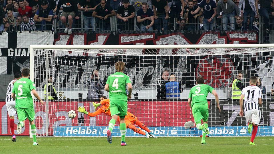 Spielszene Eintracht Mönchengladbach