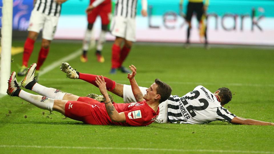 Spielszene Eintracht Köln