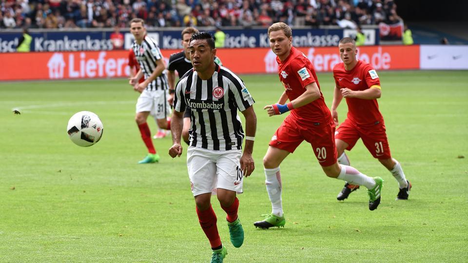 Spielszene Eintracht Leipzig