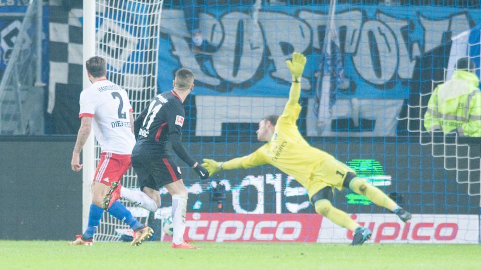 Spielszene Eintracht HSV