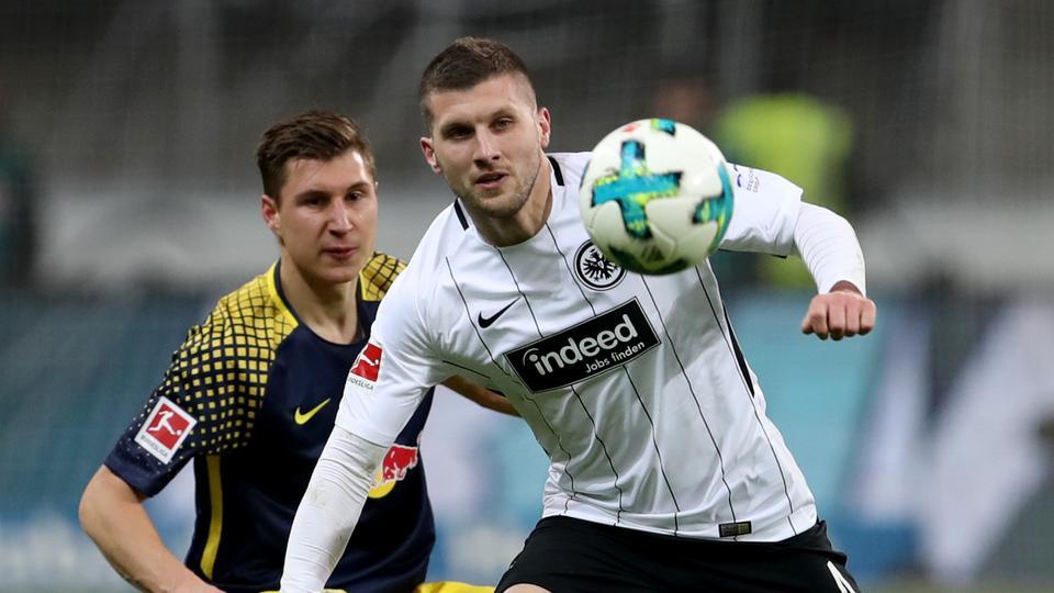 Spielszene Eintracht gegen Leipzig