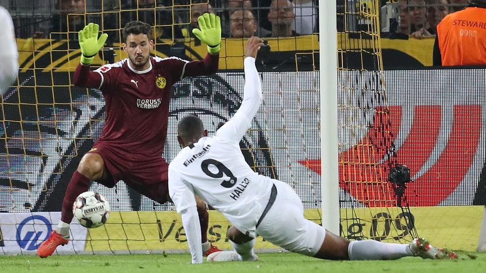 Haller trifft für Frankfurt in Dortmund