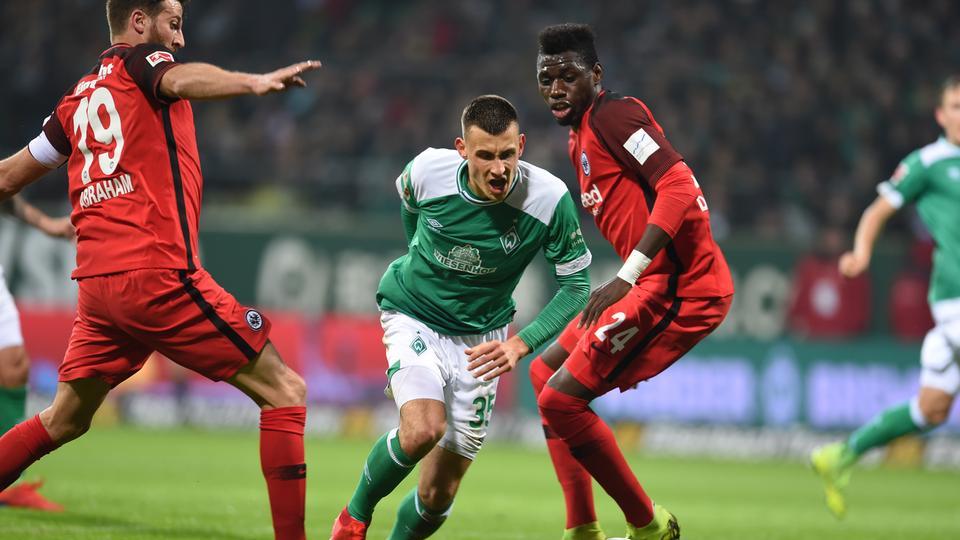 Spielszene Eintracht Bremen