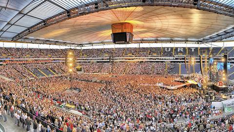 Konzert in der Commerzbank-Arena
