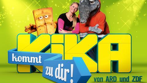 """Plakat zu """"Kika kommt zu dir"""""""