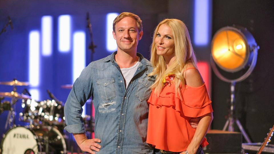Sonya Kraus und Tobi Kämmerer