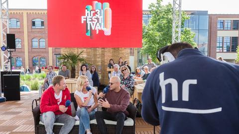 Milow und Joris hr3 Festival