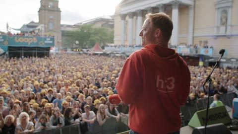Michael Schulte auf dem Schlossgrabenfest 2019