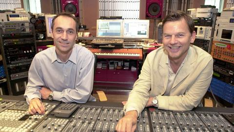 Luca Anzilotti und Michael Münzing am 09.05.2001