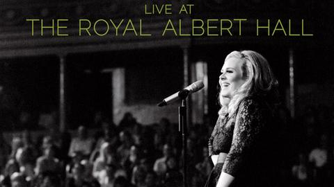 """Cover: Adele """"Live At The Royal Albert Hall"""":"""