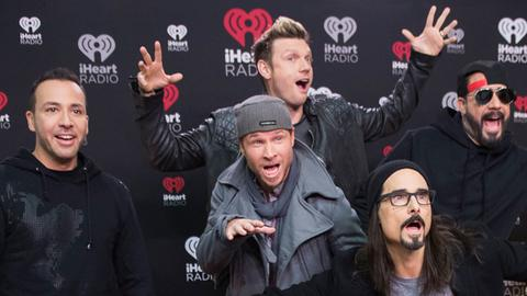 Die Backstreet Boys: Howie Dorough, Brian Littrell, Nick Carter, Kevin Richardson und Alexander James McLean
