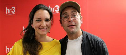Bosse und hr3 Moderatorin Julia Tzschätzsch