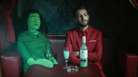 "Szene aus dem Video zu ""Cordula Grün"""