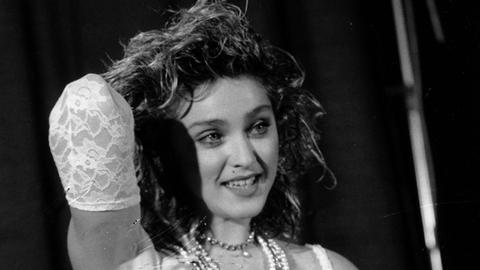 Madonna 1984 bei der Verleihung der MTV Video Music Awards.