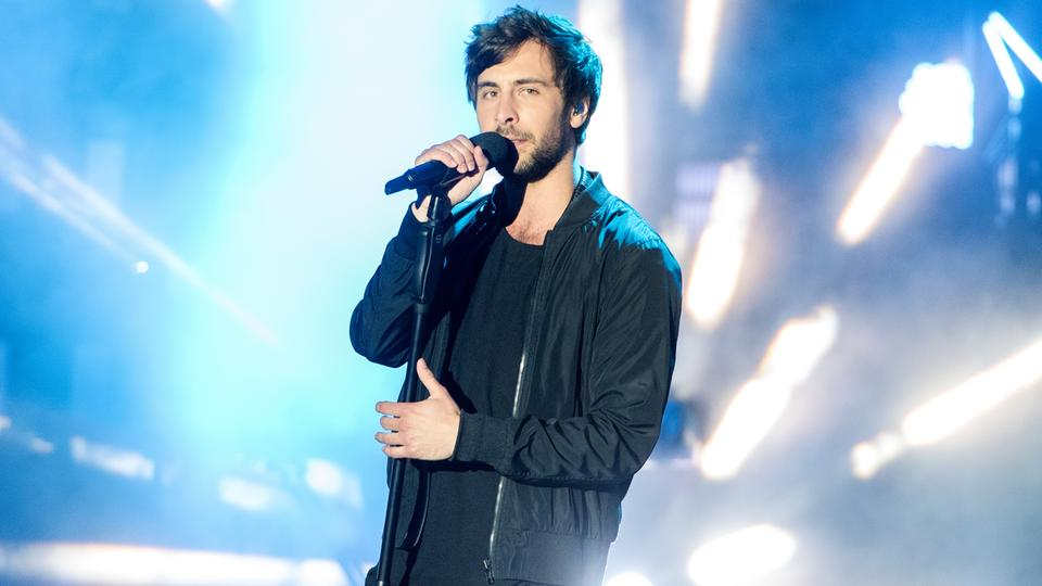 Max Giesinger beim Public Viewing zum Eurovision Song Contest 2016