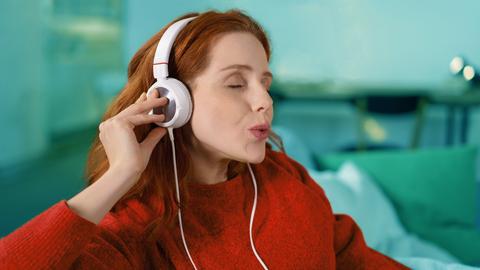 Musik an - Stress aus
