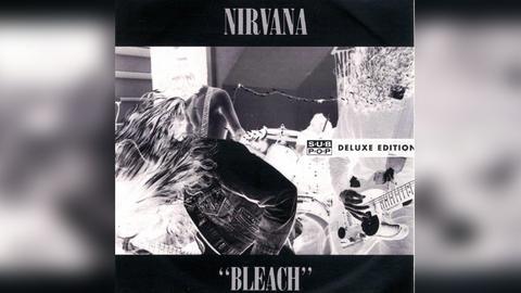 Albumcover Nirvana: Bleach