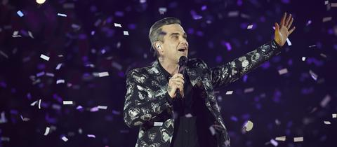 Robbie Williams 45. Geburtstag