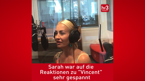 Sarah Connor im Interview bei hr3
