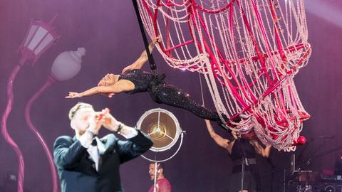Pink live on stage am 22.07.2019 in Frankfurt