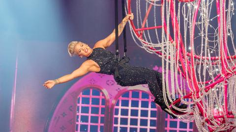 Pink live on stage am 22.07.2019 in Frankfurt