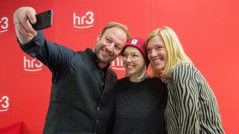 Stefanie Heinzmann zu Gast bei hr3