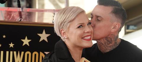 P!ink und ihr Ehemann Carey