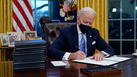 Amtseinführung von US-Präsident Joe Biden