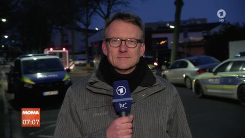 Hausdurchsuchung in Hanau