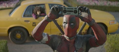 Filmszene aus Deadpool 2