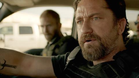 Szenenbild aus Criminal Squad mit Gerard Butler