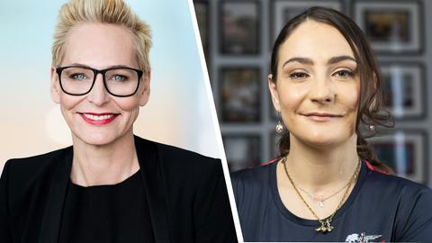 Kristina Vogel zu Gast bei Bärbel Schäfer
