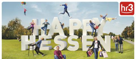 Happy Hessen Plakat