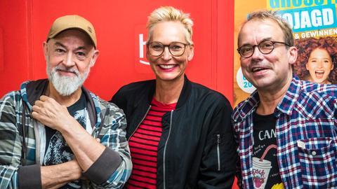 Gerd Knebel, Bärbel Schäfer und Henni Nachtsheim