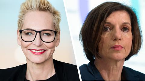 Bärbel Schäfer und Jutta Allmendinger