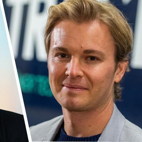 Collage: Bärbel Schäfer und Nico Rosberg