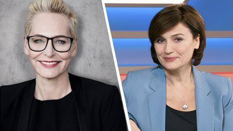 Bärbel und Sandra Maischberger
